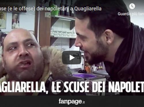 Fabio Quagliarella le scuse e le offese dei napoletani…!