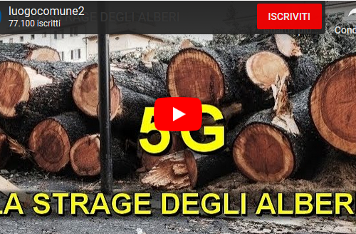 5G: LA STRAGE DEGLI ALBERI